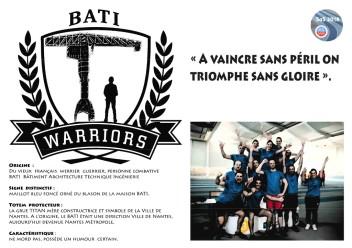 AFFICHE_Warriors du Bati